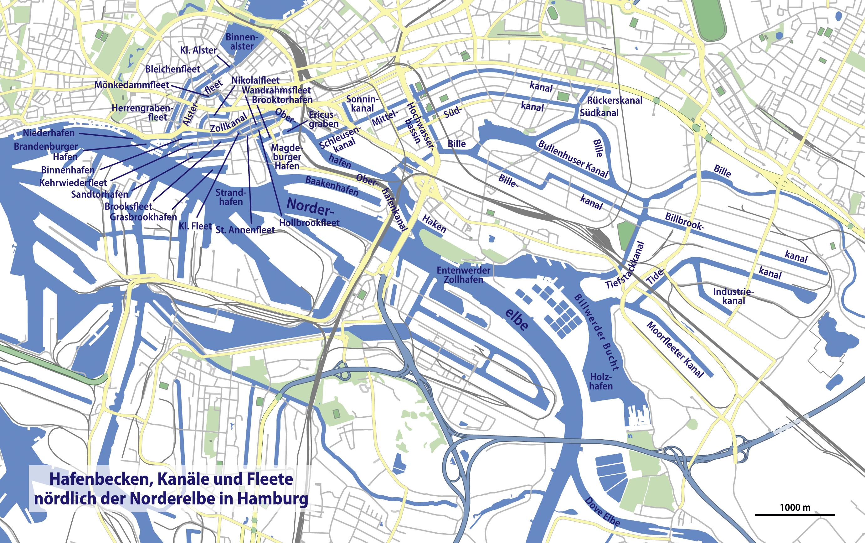 karte hafen hamburg File:Karte Hamburger Hafen nördlich der Norderelbe.png   Wikimedia