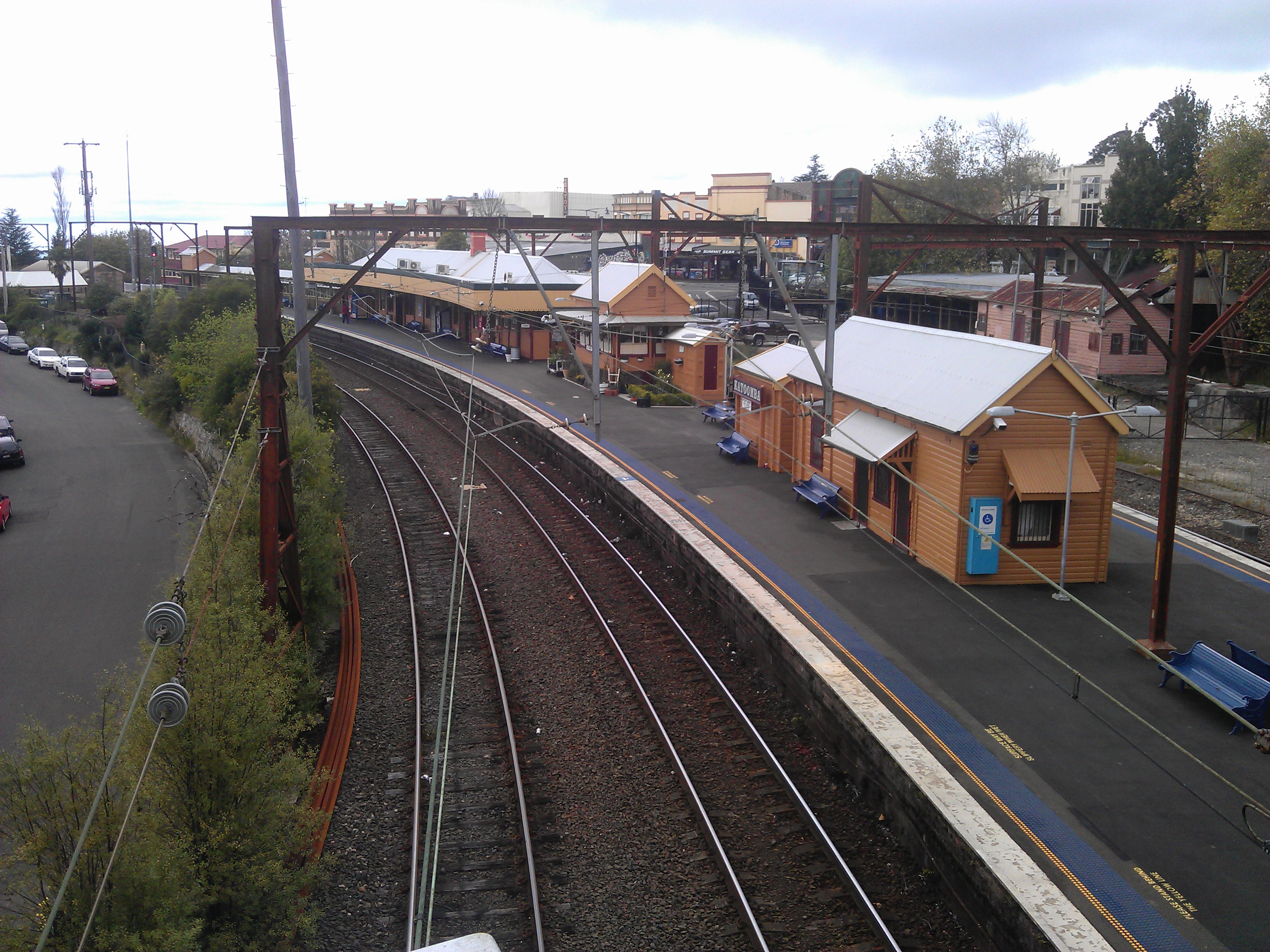 Katoomba train station number
