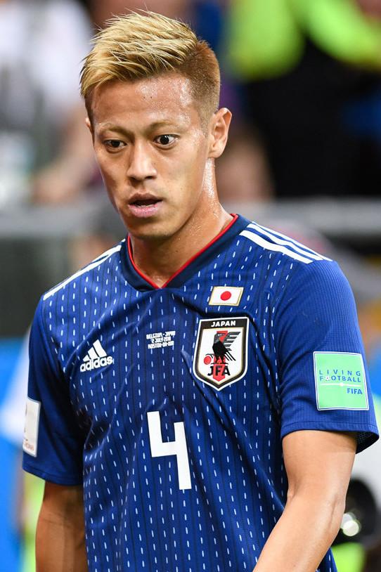 35-år gammel 183 cm høy Keisuke Honda i 2021