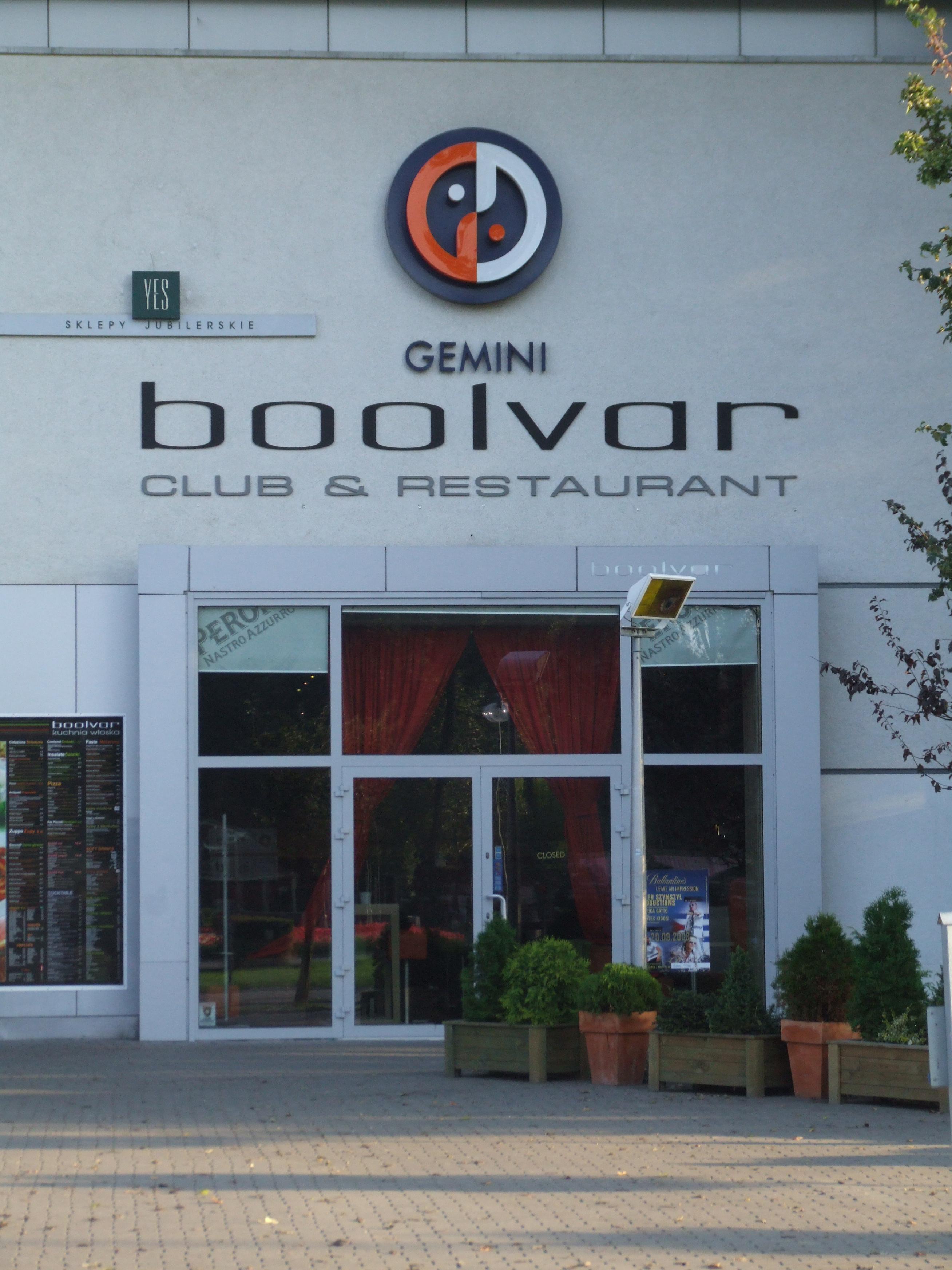 Fileklub I Restauracja Boolvar Aleja Jana Pawła Ii Gdynia