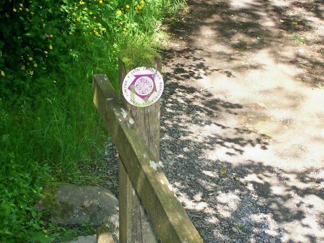 Landsker Borderland's Trail, River Wenallt, Login - geograph.org.uk - 1333117