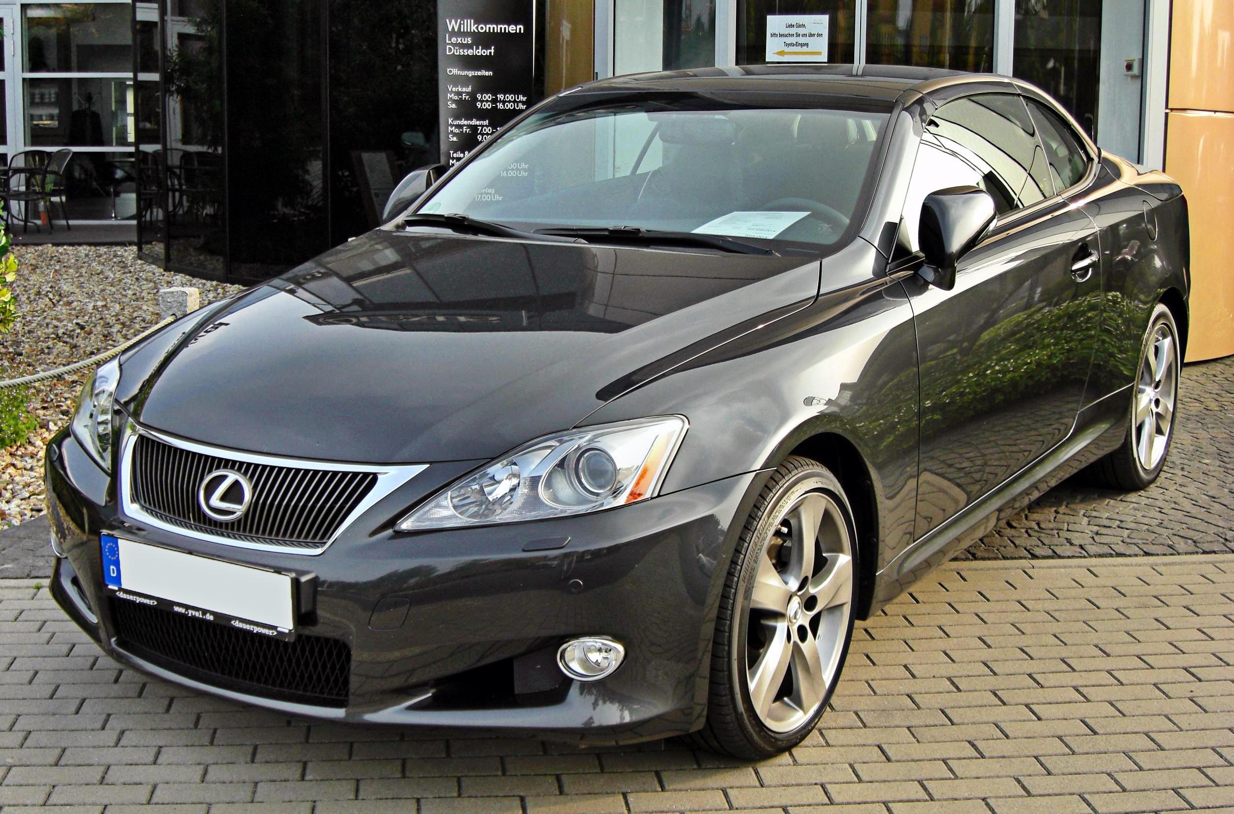 File:Lexus IS 250 C 20090809 Front.JPG