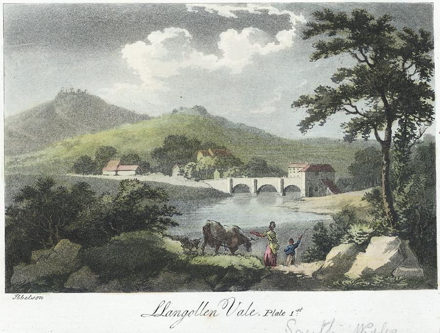 Llangollen Vale: Plate 1st
