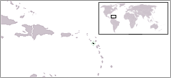 Location of Montserrat