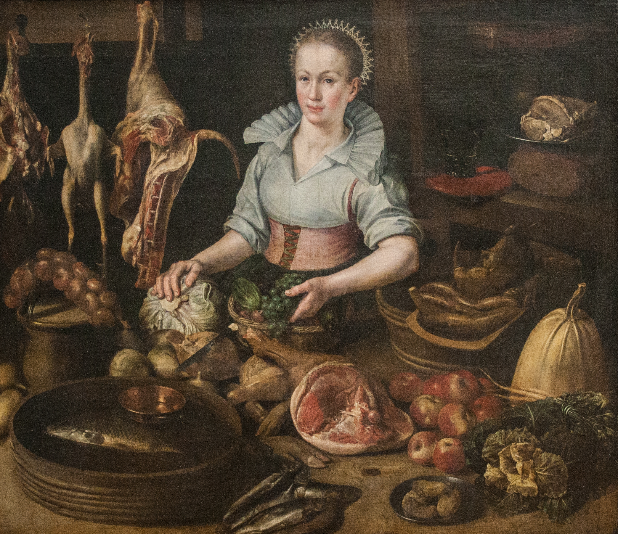 Interior Kitchen Maid filelucas van valckenborch circle of the kitchen maid jpg jpg