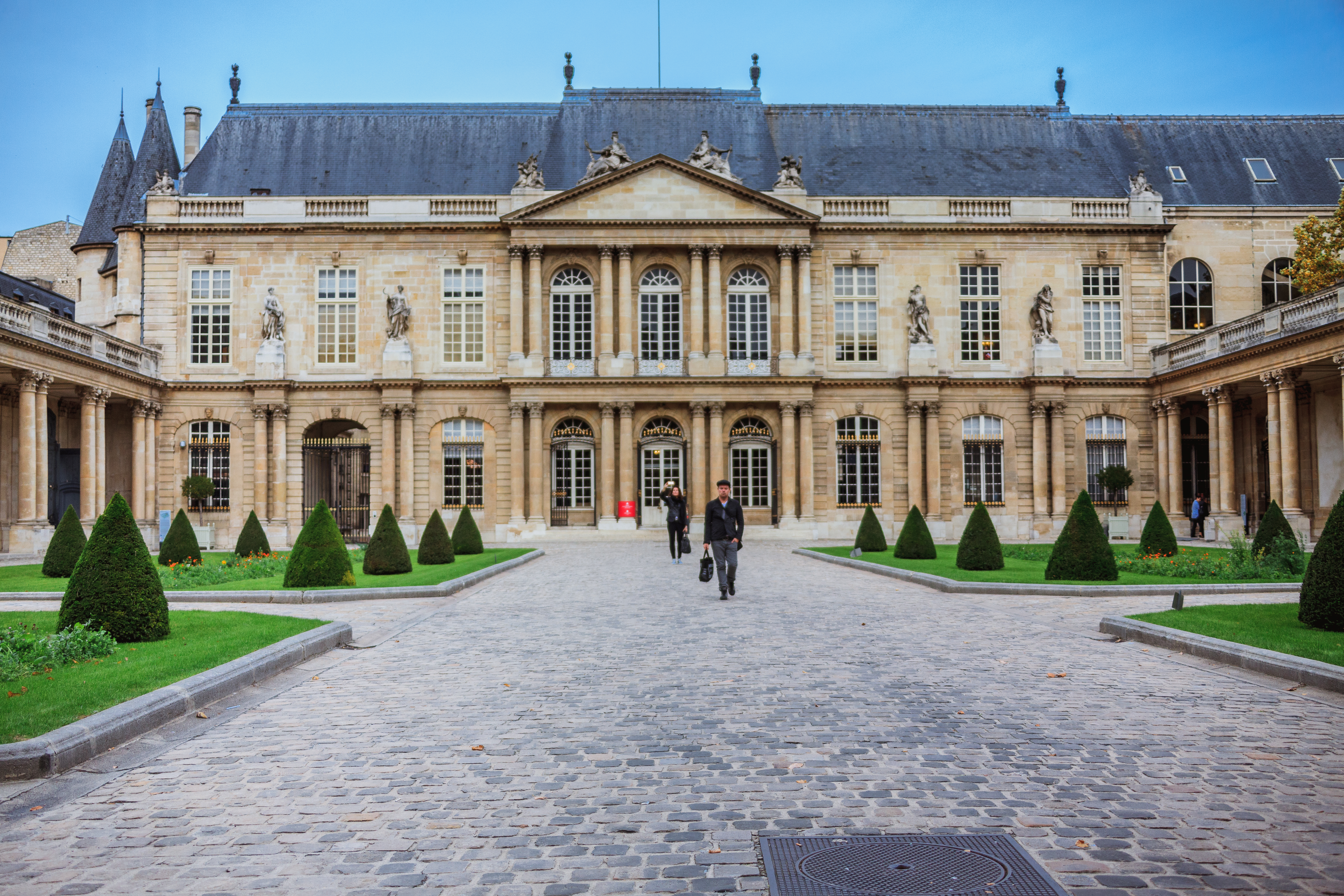 Le bâtiment parisien des Archives Nationales, siège du projet de la Maison de l'Histoire de France