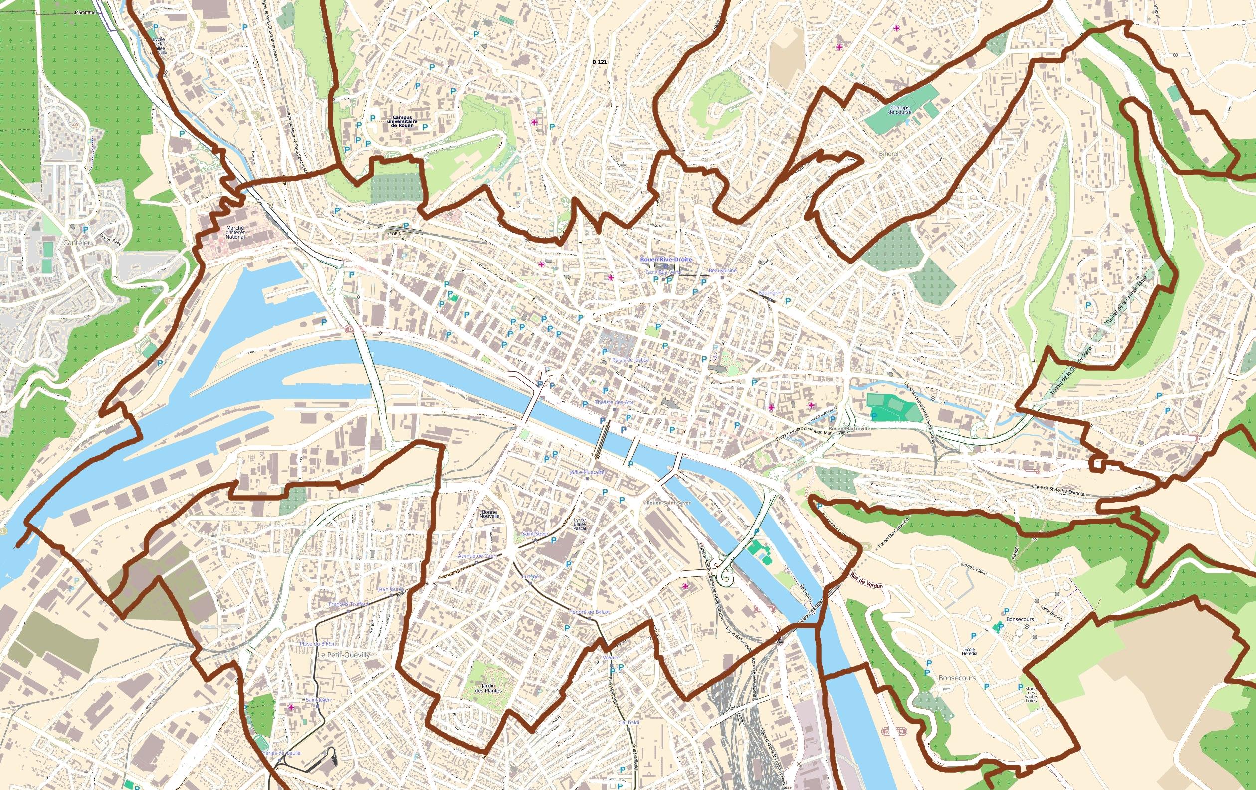 File:Map Rouen.jpg - Wikimedia Commons