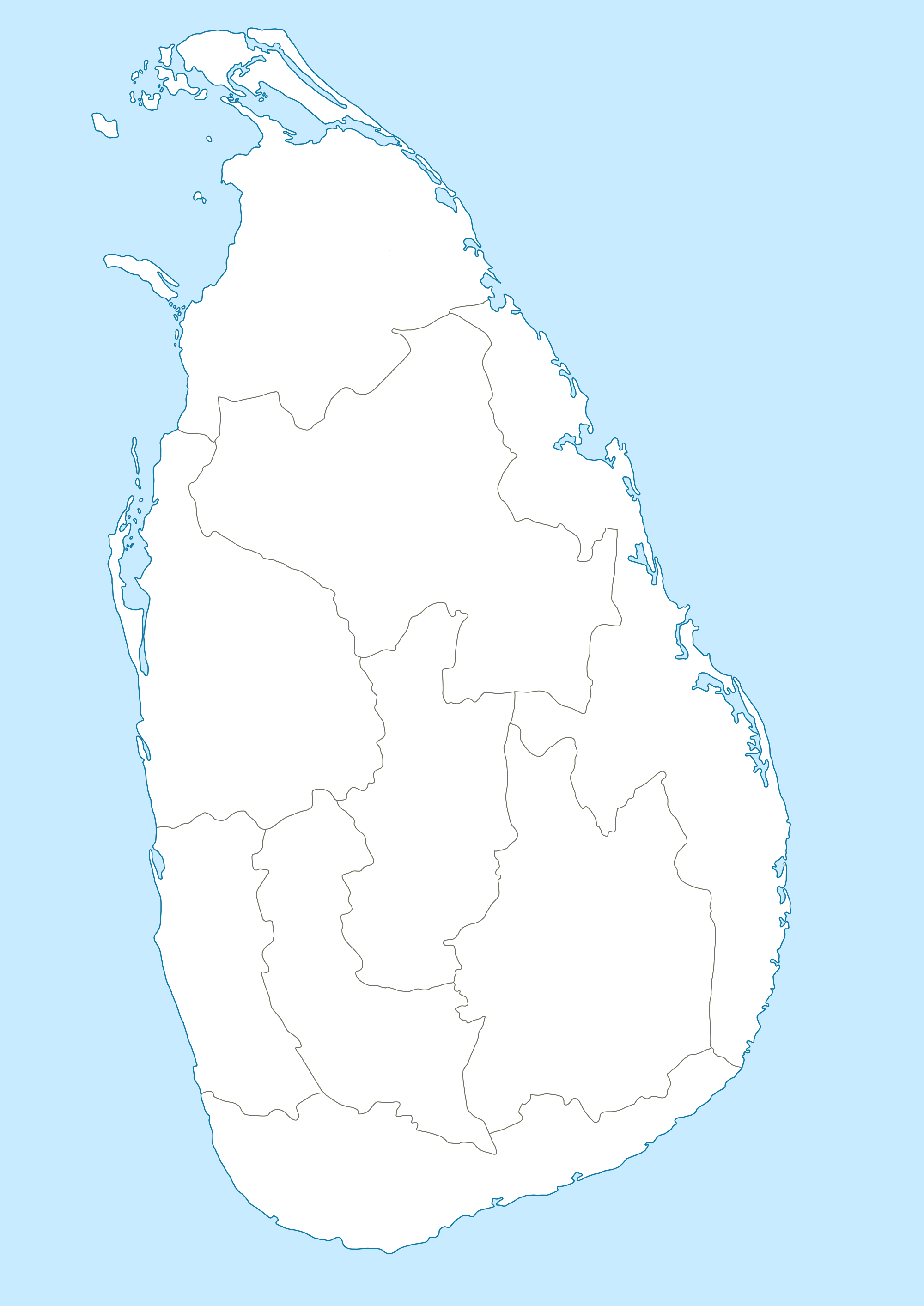 Sri Lanka Political Map.File Map Of Sri Lanka Provinces Png Wikimedia Commons