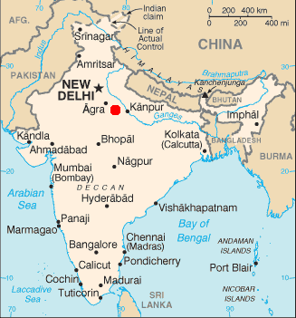 Allahabad In India Map File:Map of india position of Allahabad highlighted.png