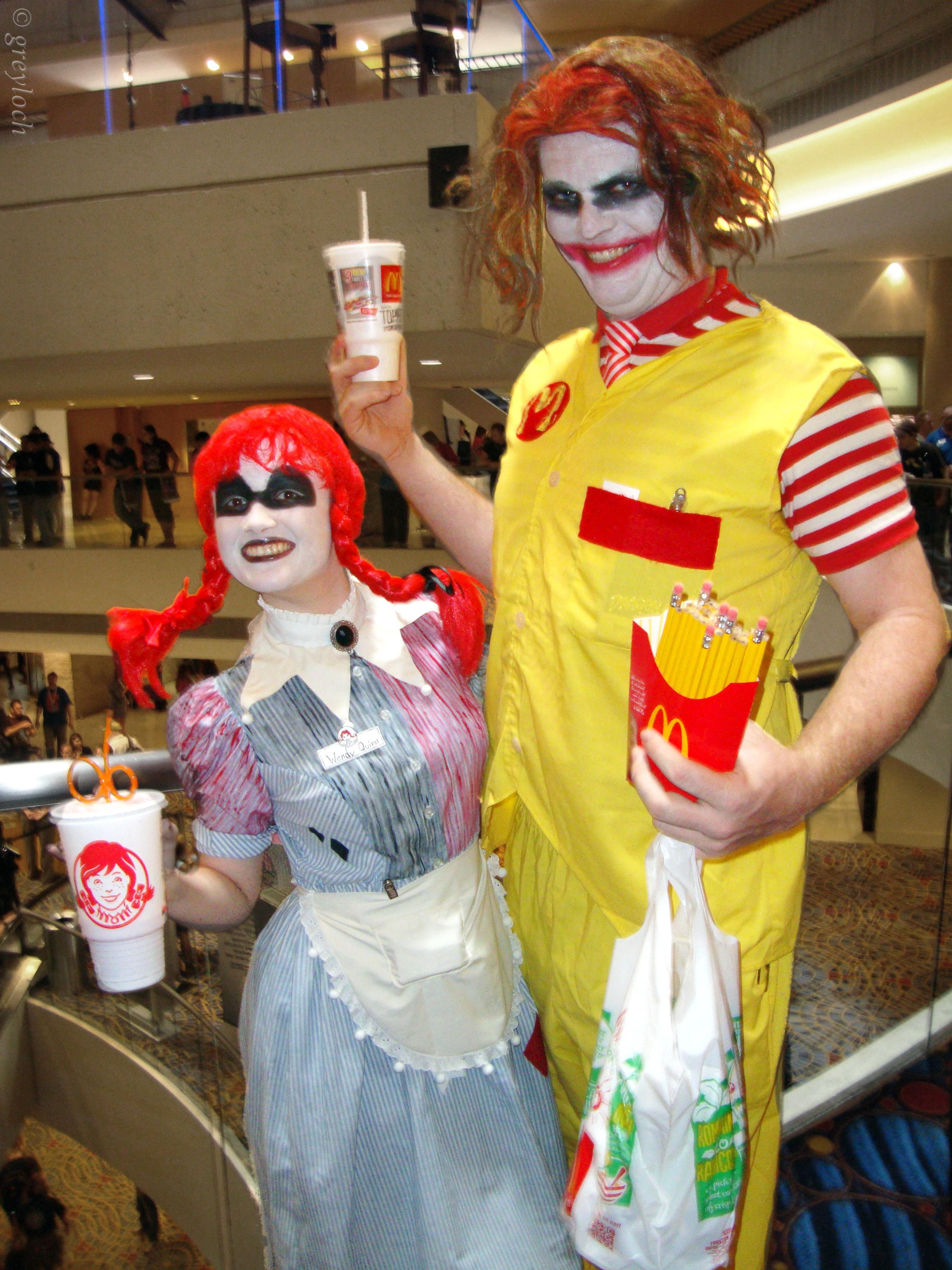 Fast Food Mascot Costumes