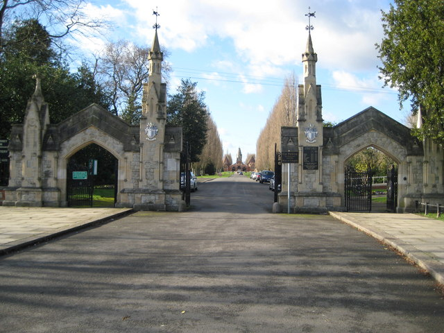 Morden, Battersea New Cemetery - geograph.org.uk - 675260