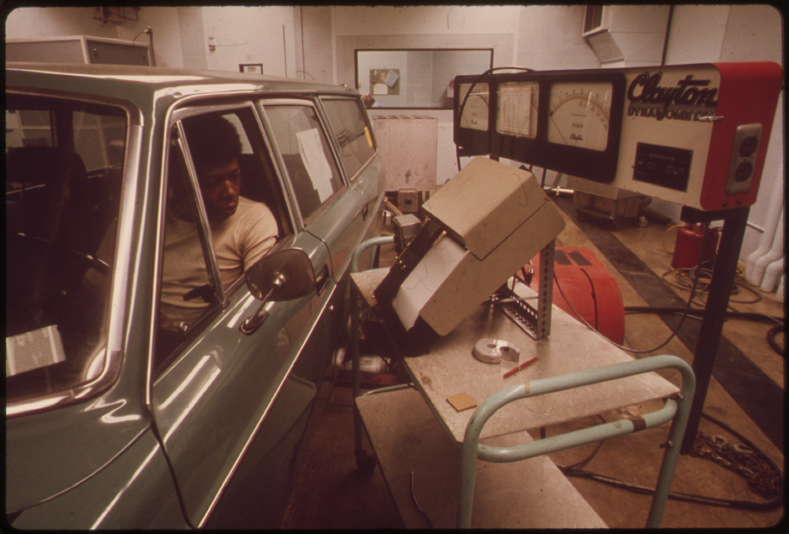 Epa pictures for Motor vehicle emissions test