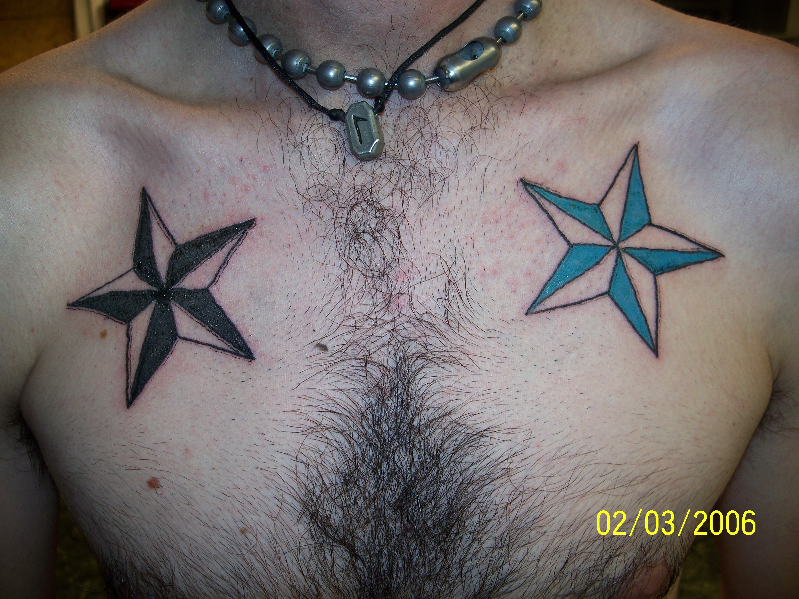 Pictures Of Nautical Stars Tattoos 71