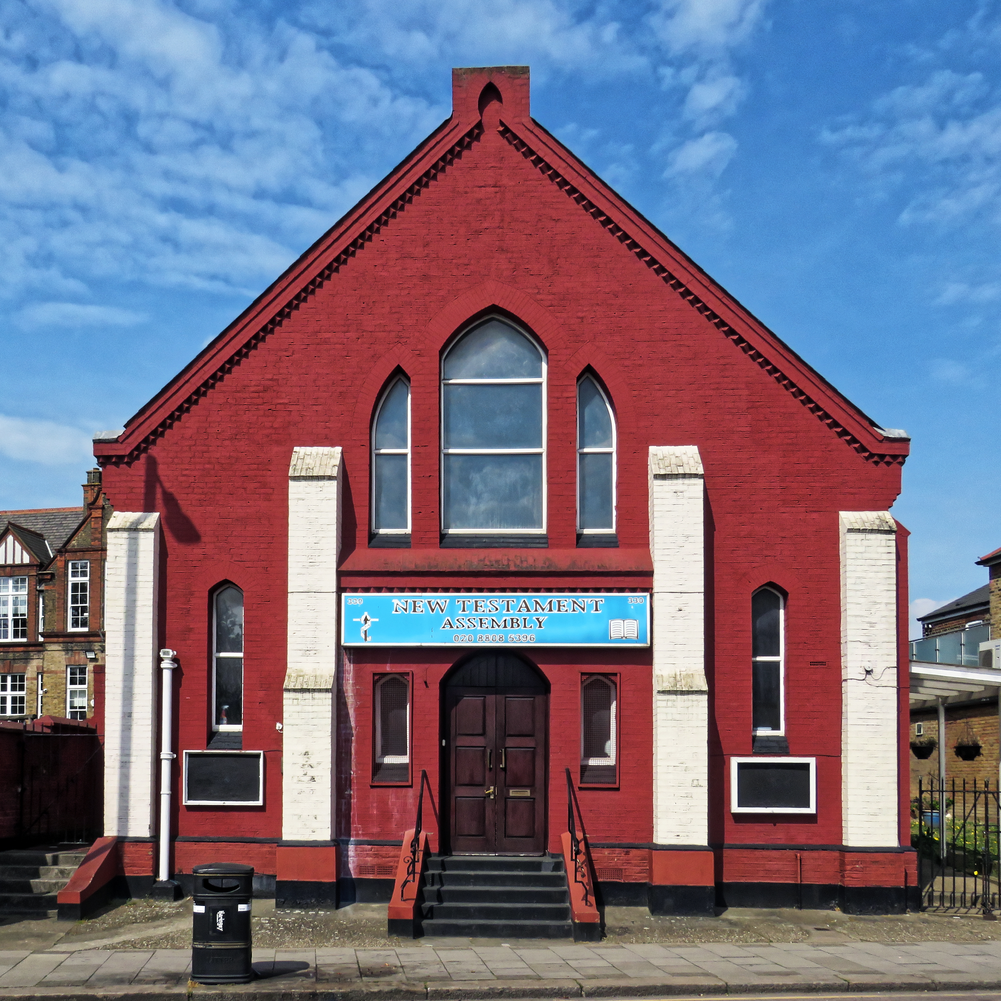 holder of this work, hereby publish it under the following license: English West Green New Testament Assembly Church on Philip Lane, Tottenham, London.