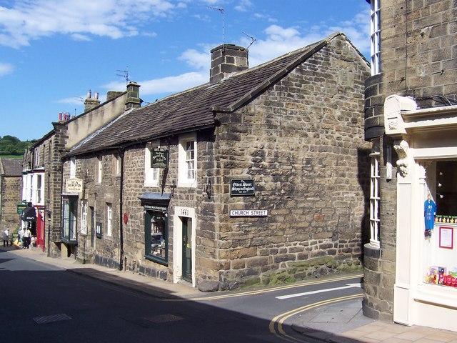Oldest Sweet Shop in England, Pateley Bridge - geograph.org.uk - 179673