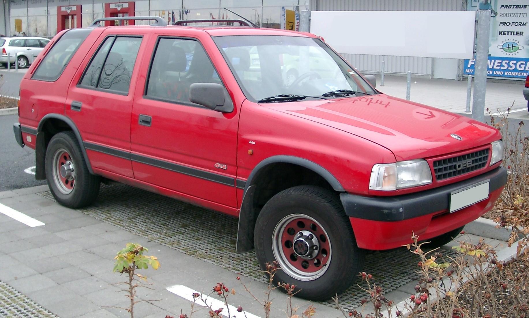 Opel Frontera —