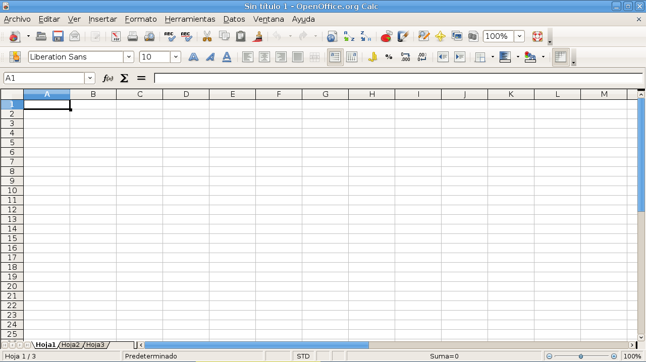 Open Office Calc Cannot See The Letter Of The Columns