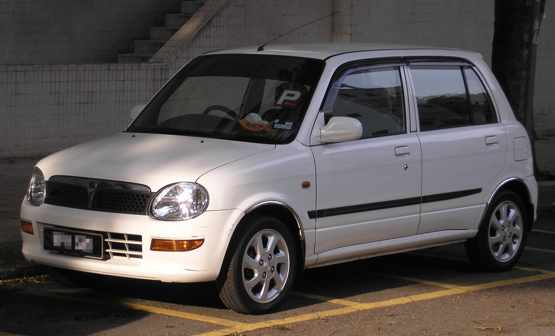 File:Perodua Kelisa (first facelift) (front), Kuala Lumpur