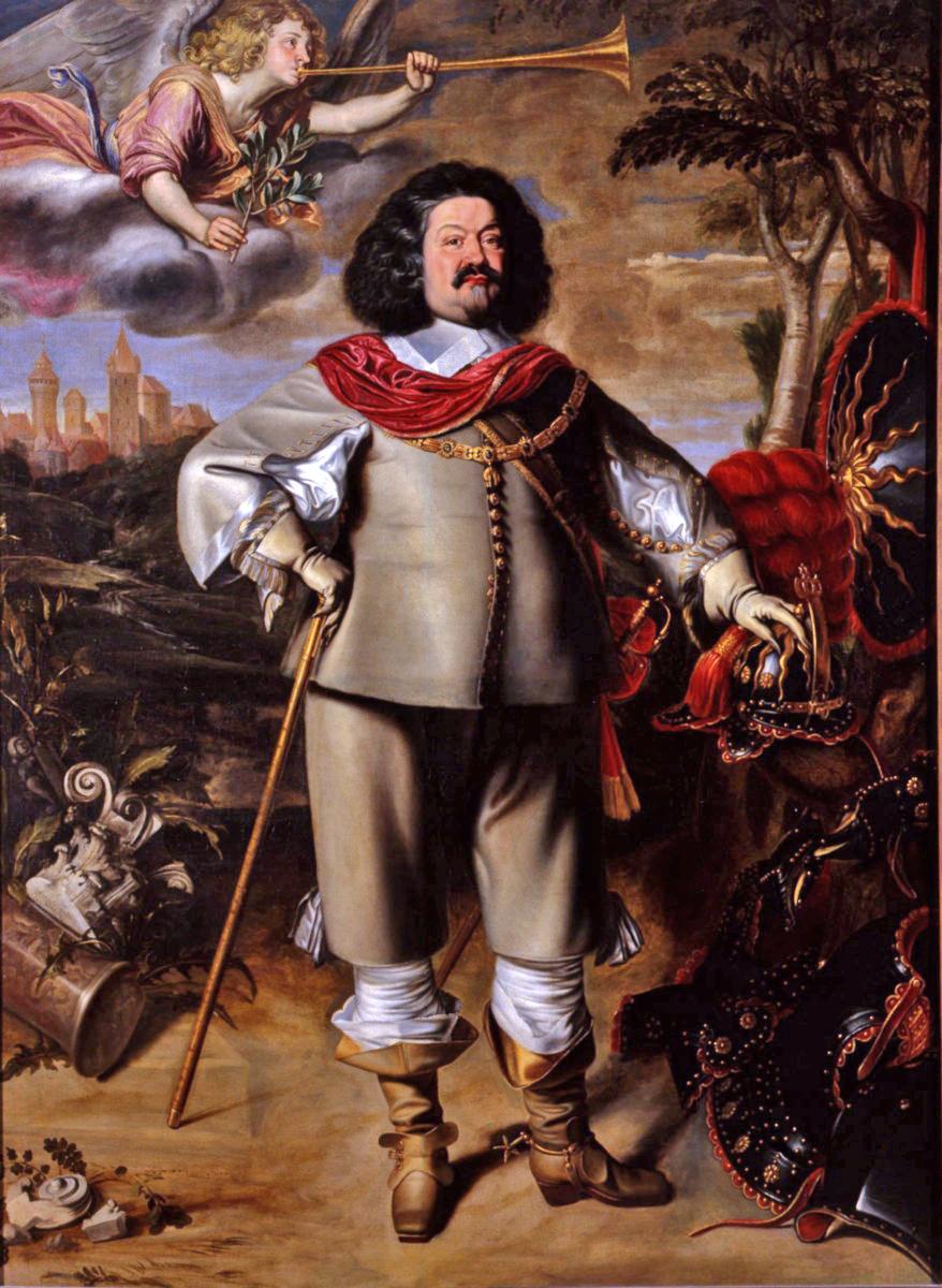 Il generale Ottavio Piccolomini (1599–1656).