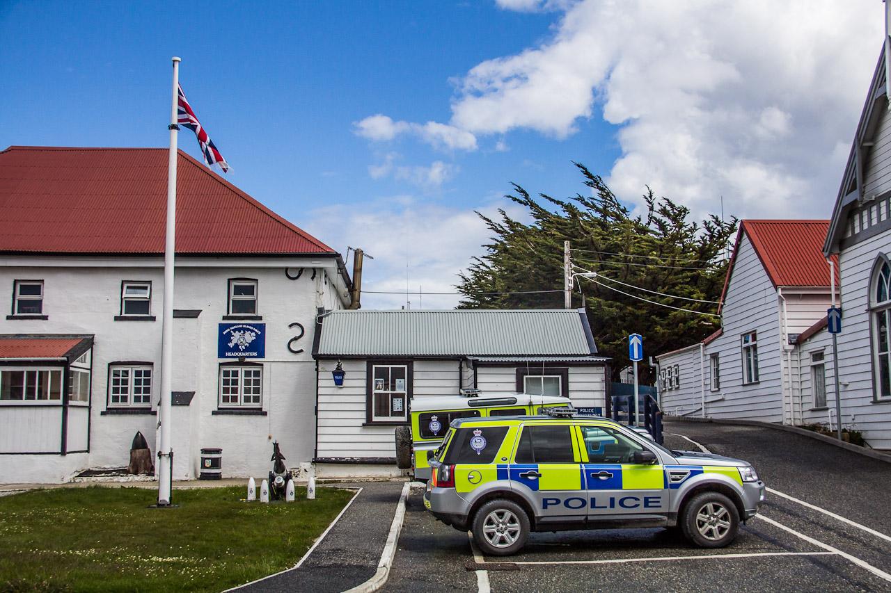 File Police Station Stanley Falkland Islands Jpg