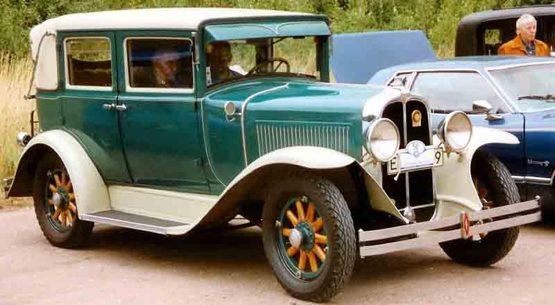 1929 Pontiac 4 door sedan (MN) | Pontiac Oakland Club International