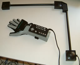 The American Power Glove with receivers