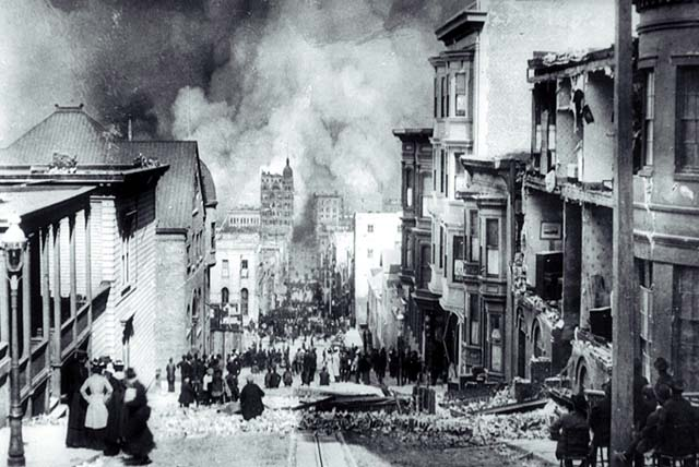 The San Francisco Earthquake and Fire