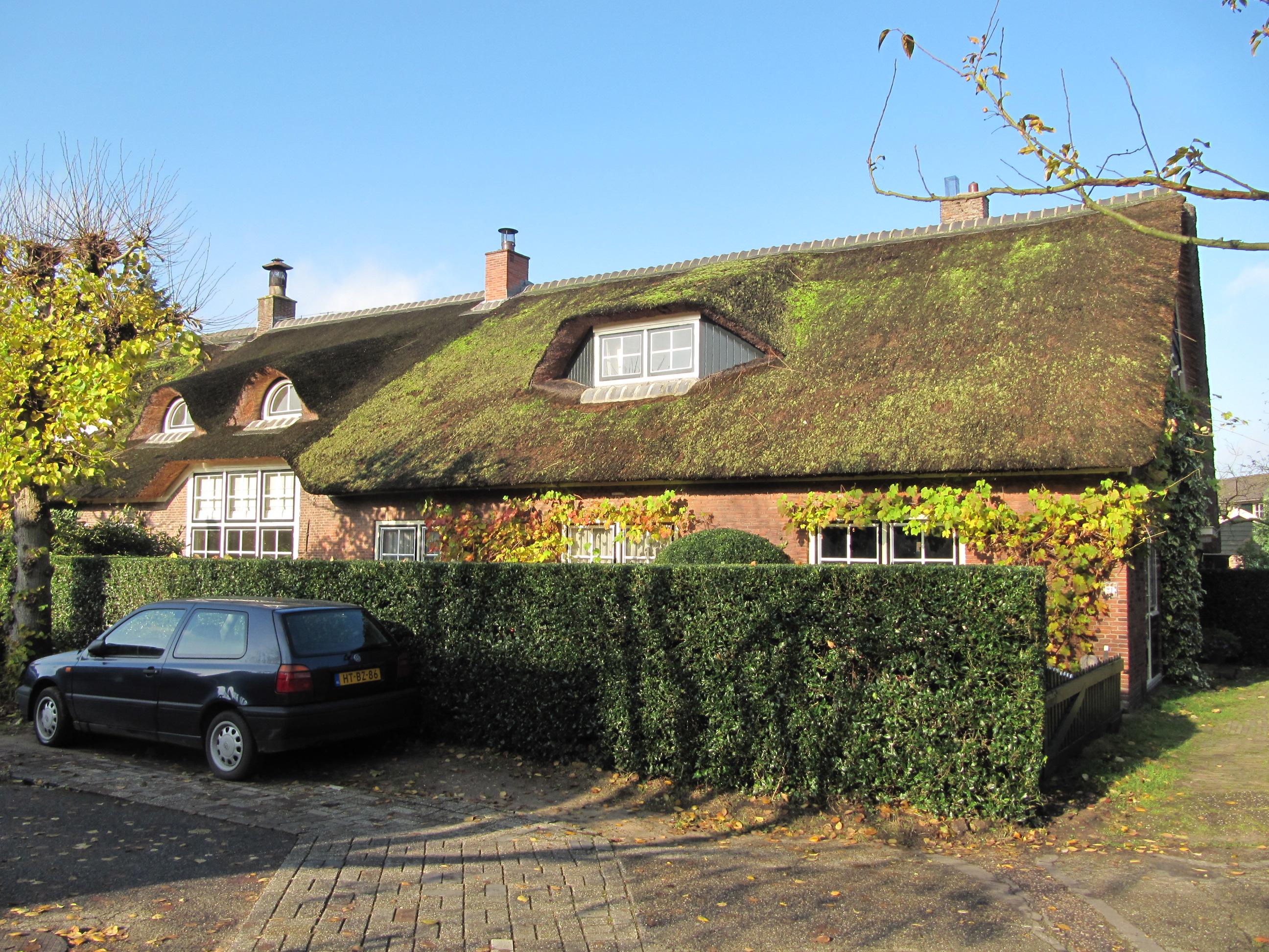 Boerderij langhuis langgerekt huis met topgevel zijbaander in laren monument - Fotos van eigentijds huis ...