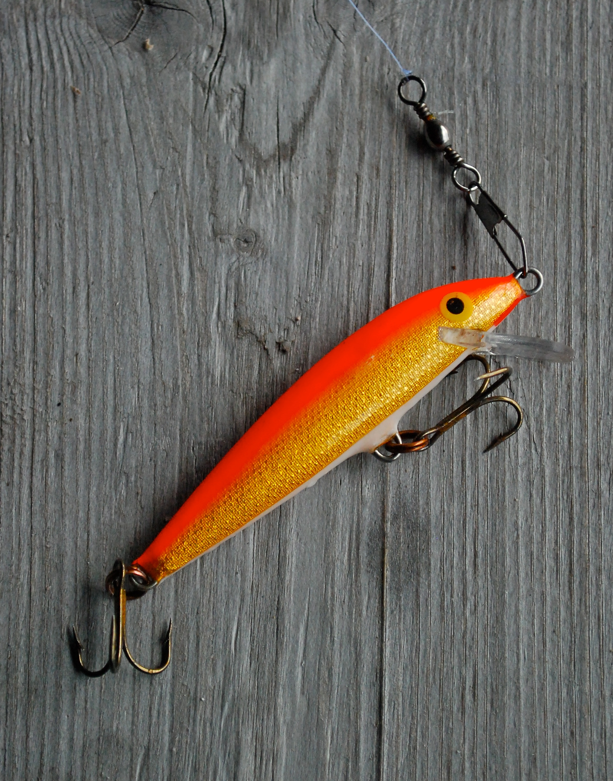 file:rapala fishing lure - wikimedia commons, Reel Combo