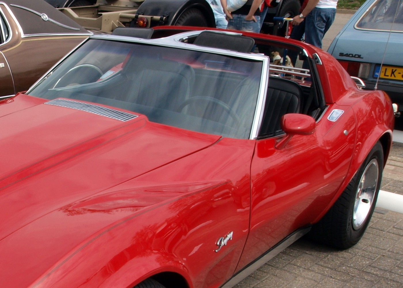 File Red Corvette Stingray Pic1a Jpg