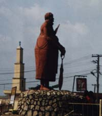 Statue on King's Square (Ring Road) in Benin City