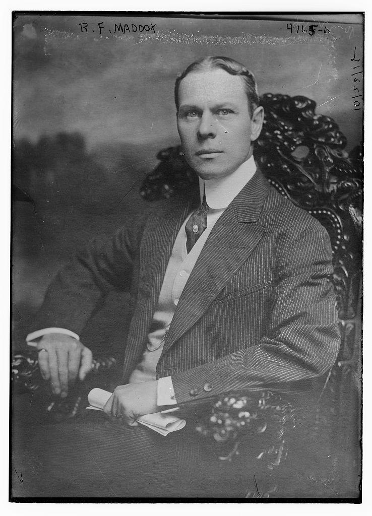 Maddox in 1918