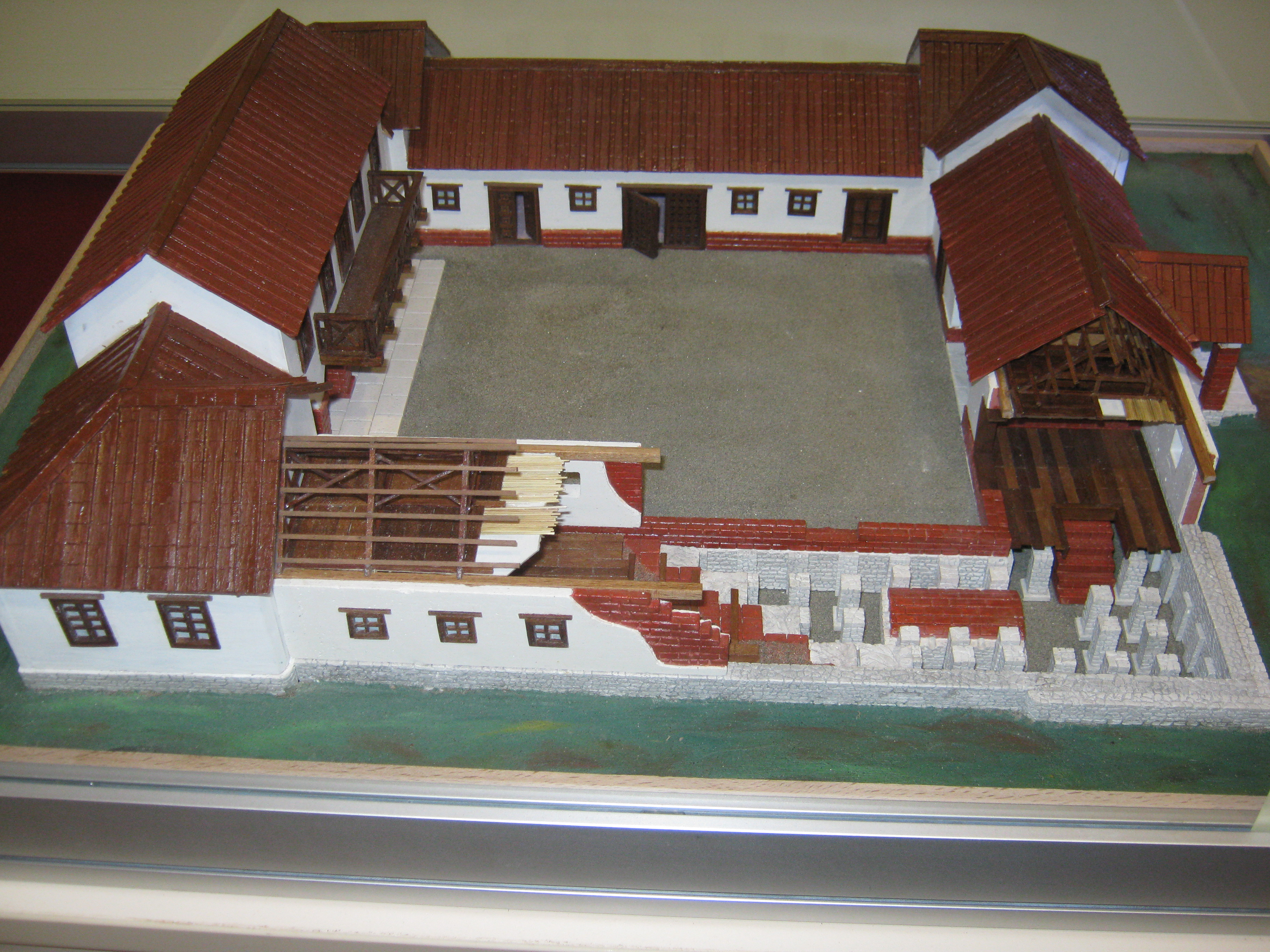 File roman villa rustica wikimedia commons for Villas rusticas