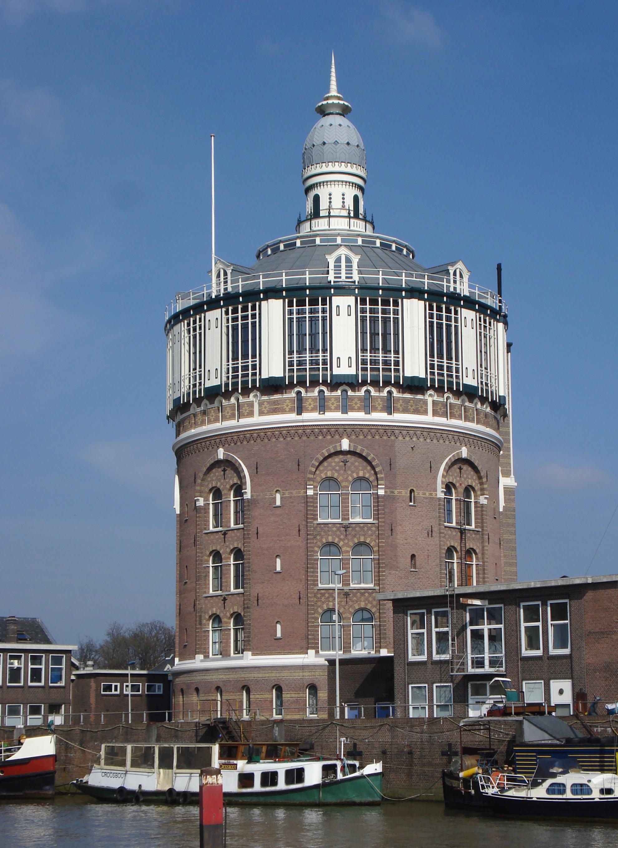 Watertoren in rotterdam monument for De lantaarn rotterdam
