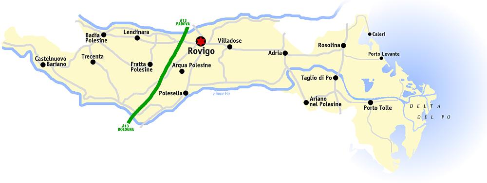 Cartina Dell Italia Rovigo.File Rovigo Mappa Png Wikipedia