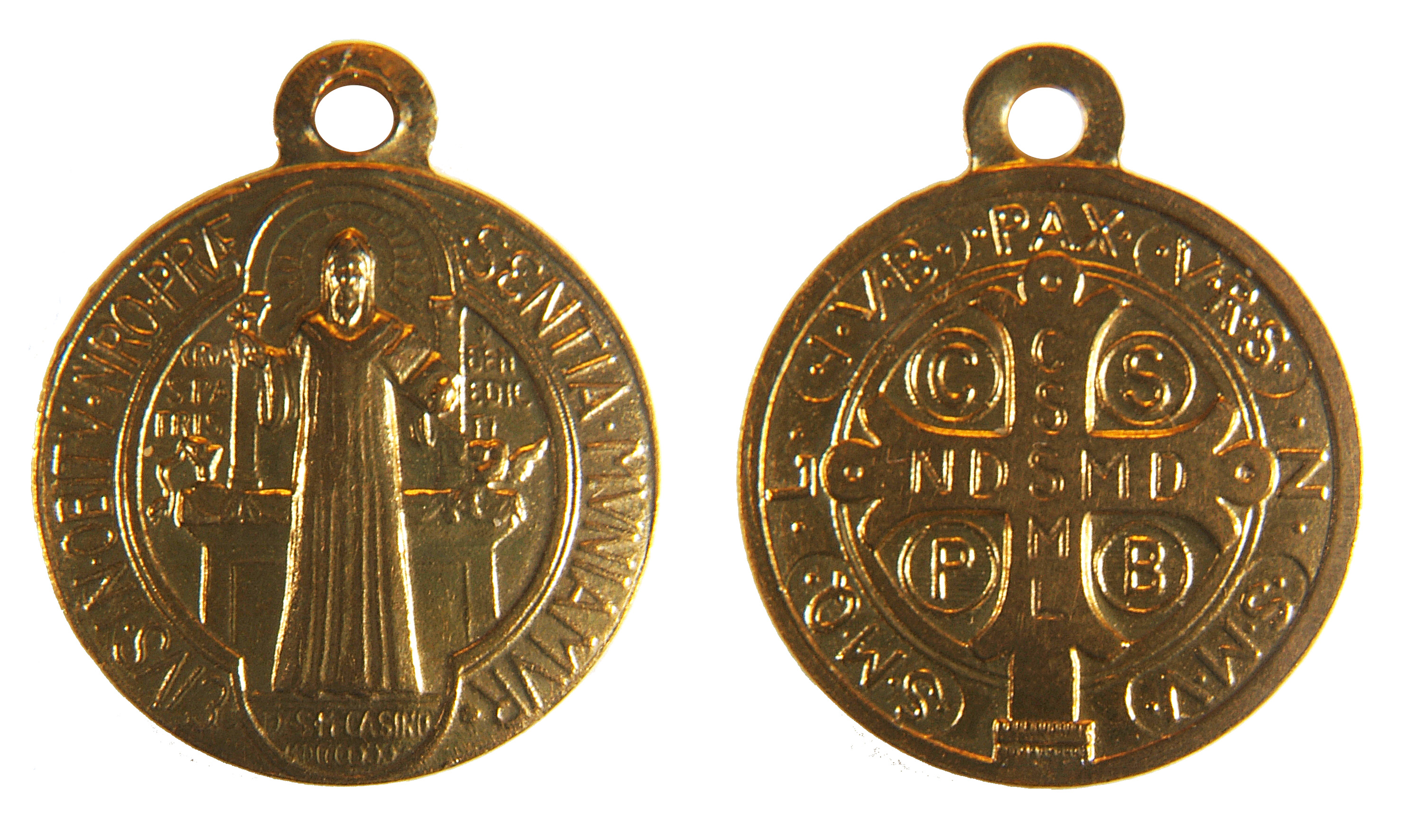 st medals benedict medallion saint color oversized large subcategory medal