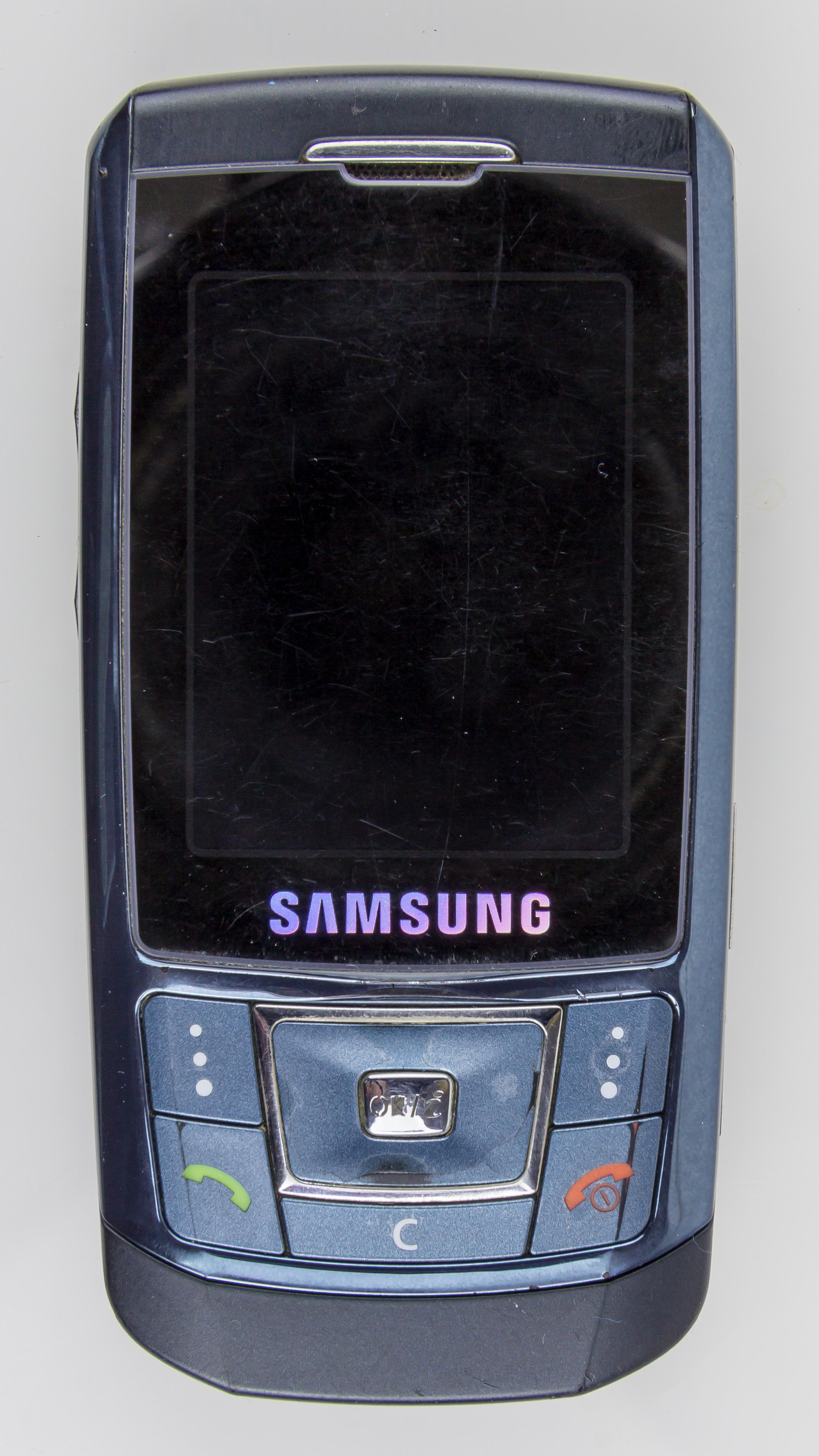le logiciel du samsung sgh-d900i