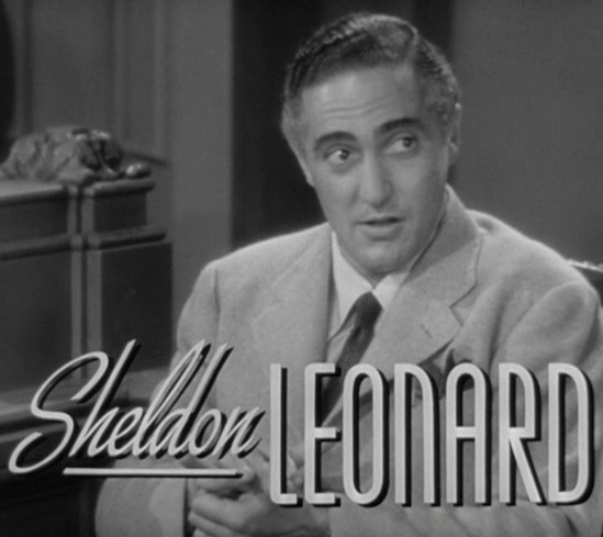 sheldon leonard and howard go to school