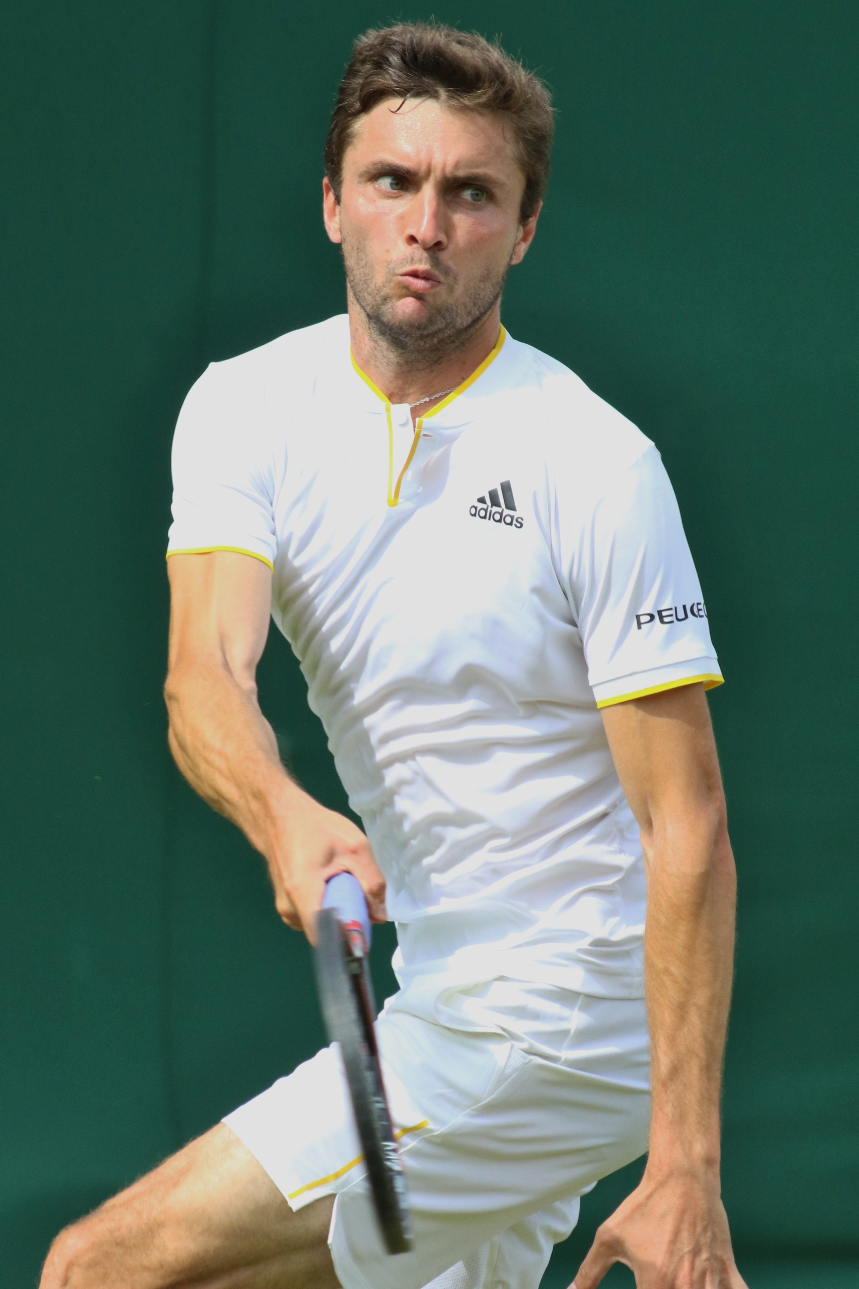 The 34-year old son of father Daniel Simon and mother Mireille Simon Gilles Simon in 2019 photo. Gilles Simon earned a 7.5 million dollar salary - leaving the net worth at 13 million in 2019