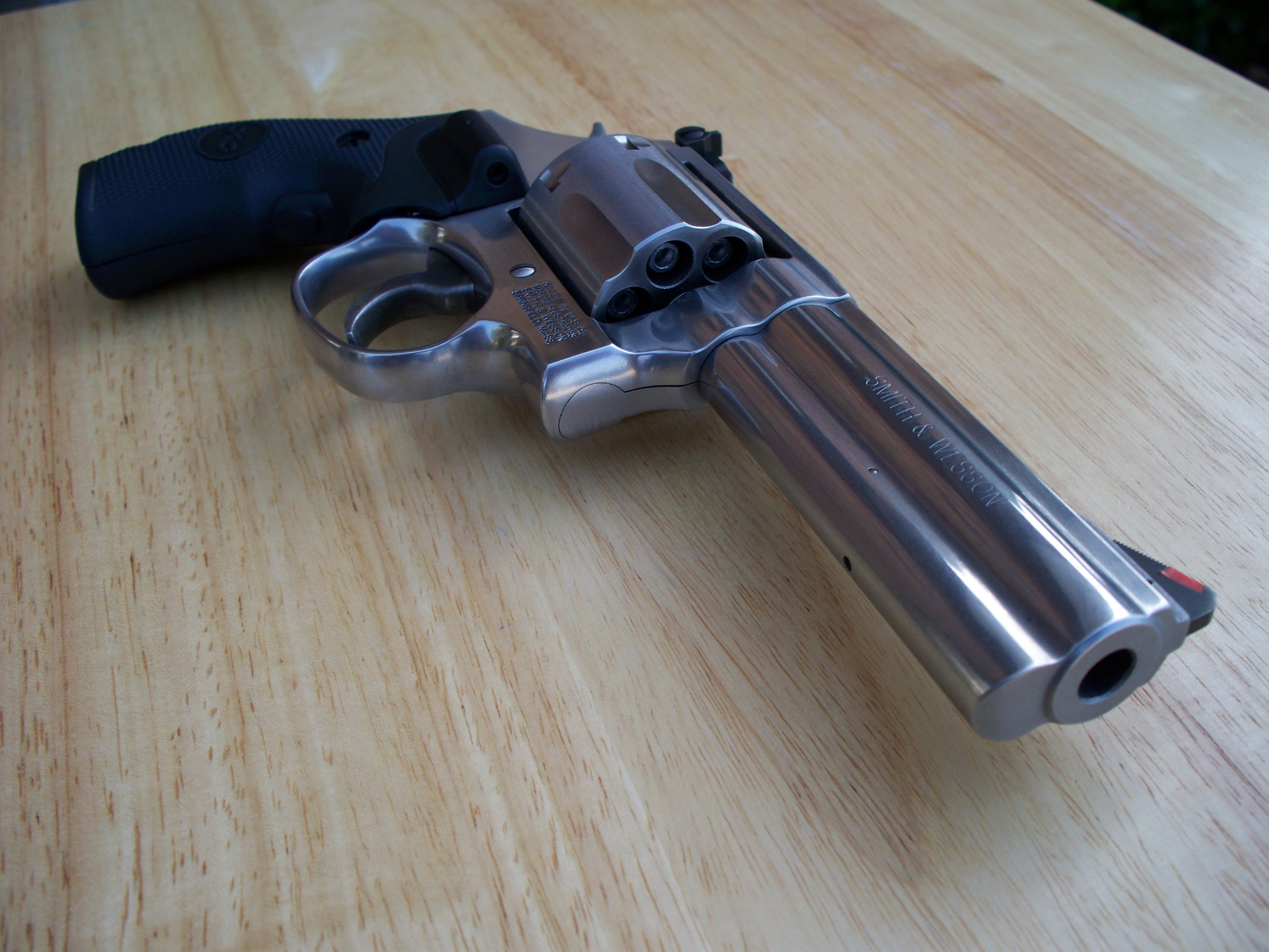 FileSmith Wesson 357 Model 686 Plus Barrel View
