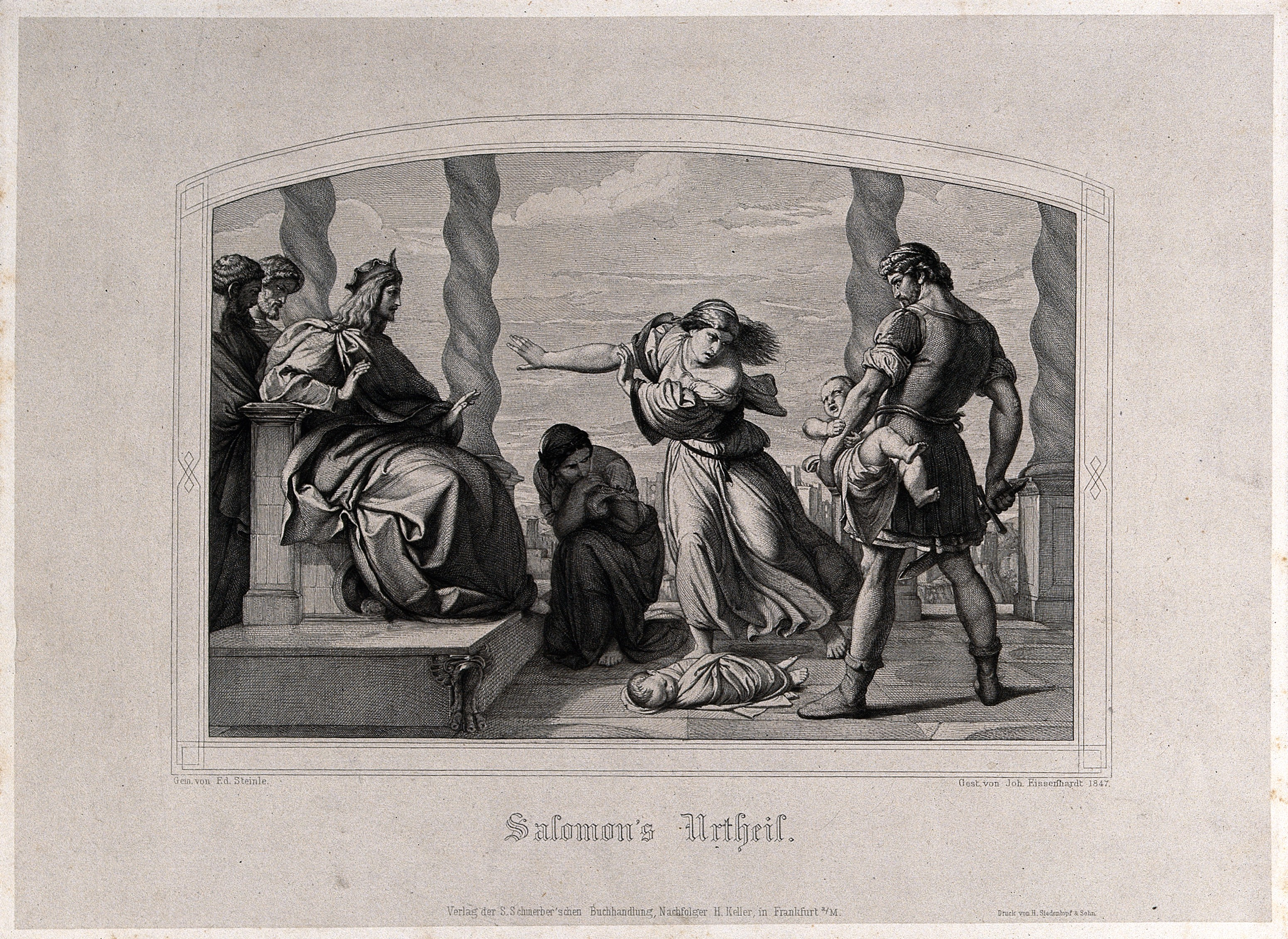 Ba Stock Chart: Solomon judges over the case of the two harlots and their ba ,Chart