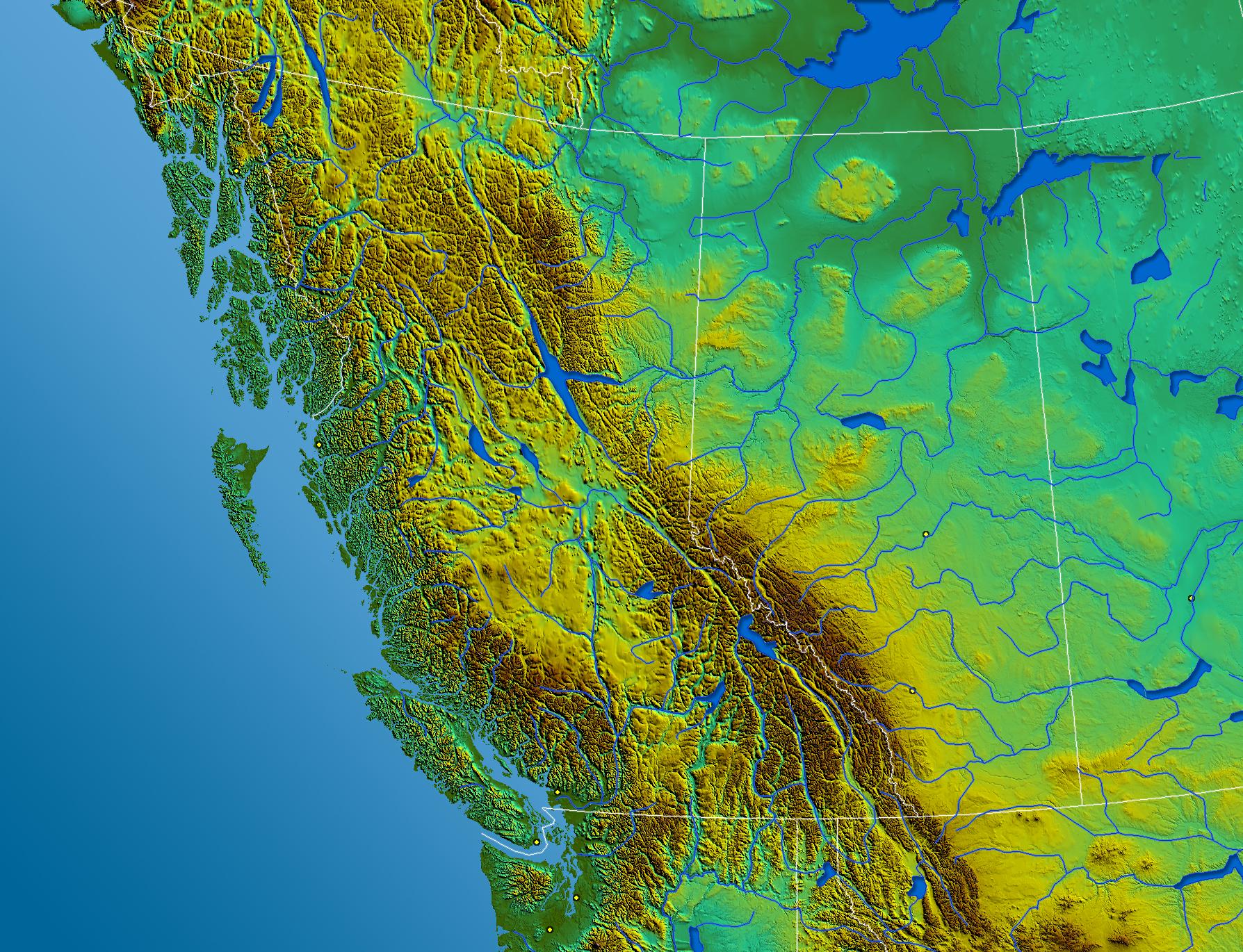 Map Western Canada File:South West Canada.   Wikipedia