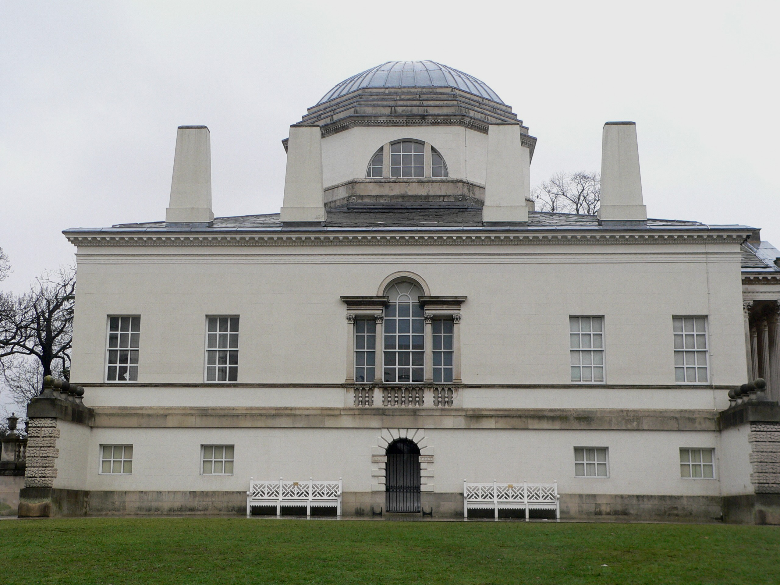 Architecture of Chiswick House - Wikipedia