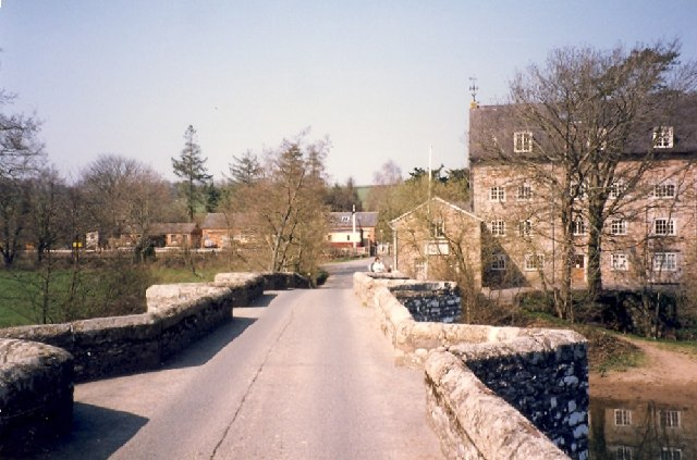 Staverton Bridge - geograph.org.uk - 84326