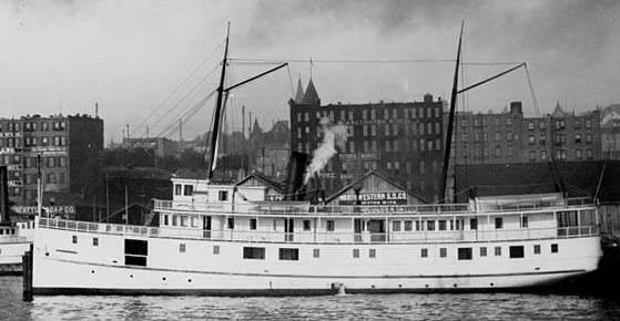 Rosalie (steamship) - Wikipedia