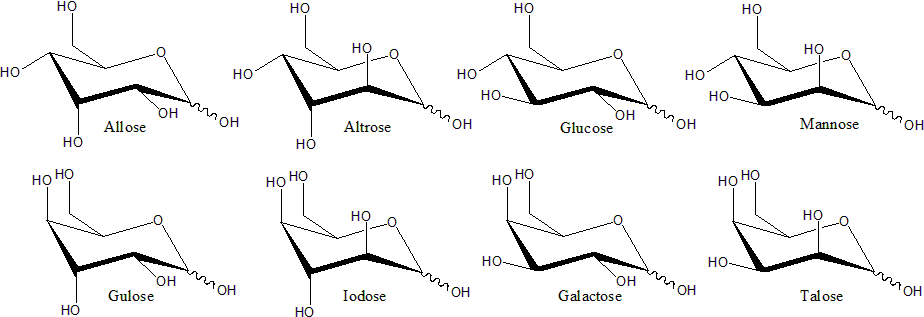 D Galactose Chair File:Structure of D-he...