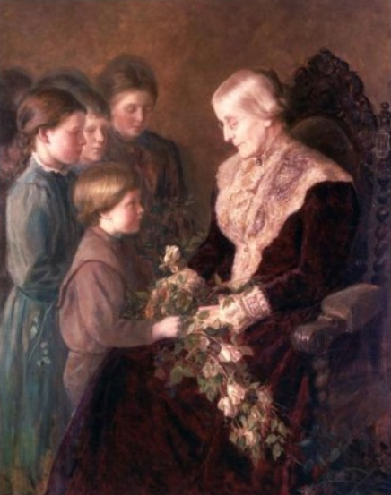 File:Susan B. Anthony on the Occasion of her 80th Birthday (1900).png