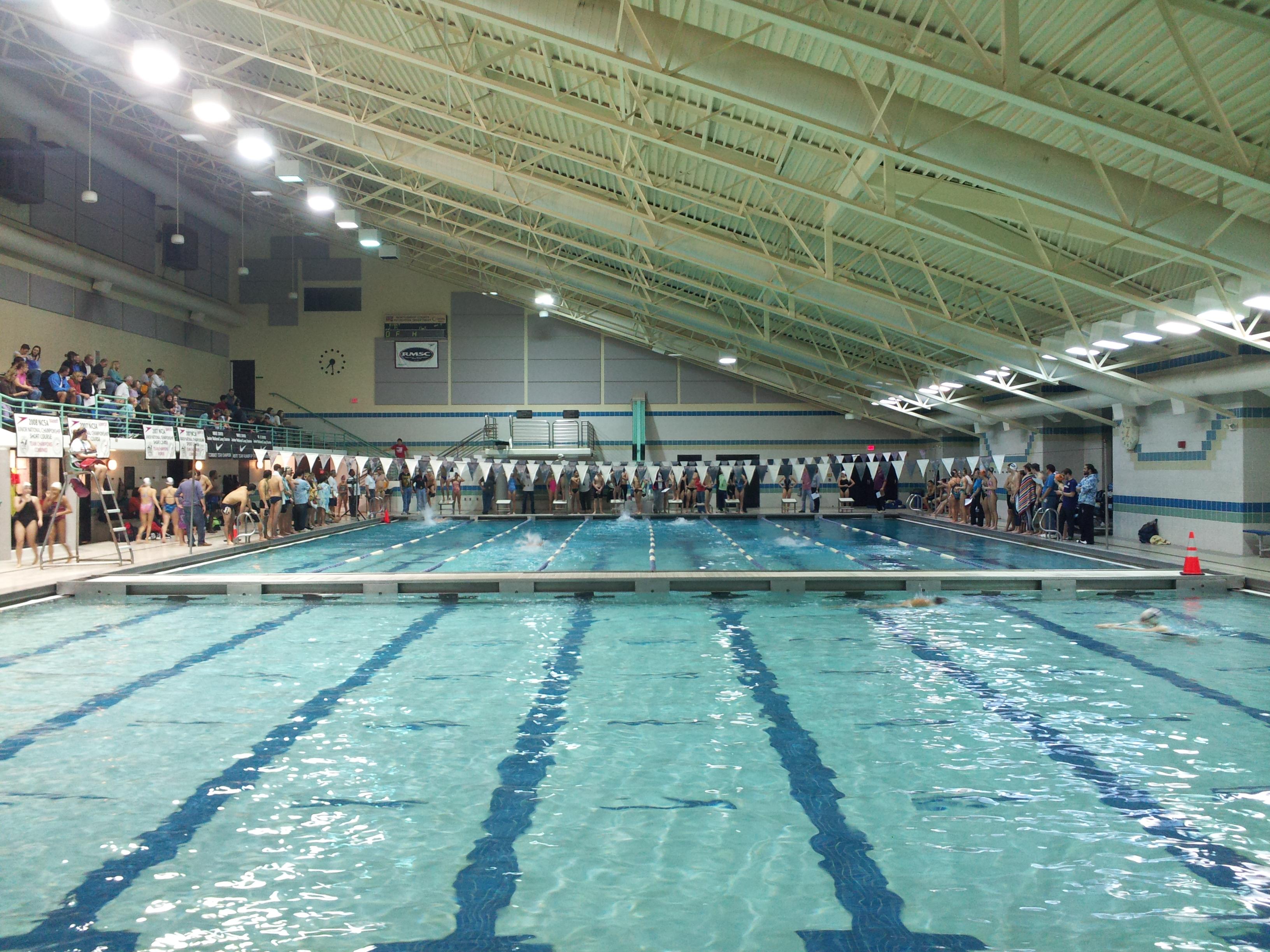 Swim Meet At Olney Swim