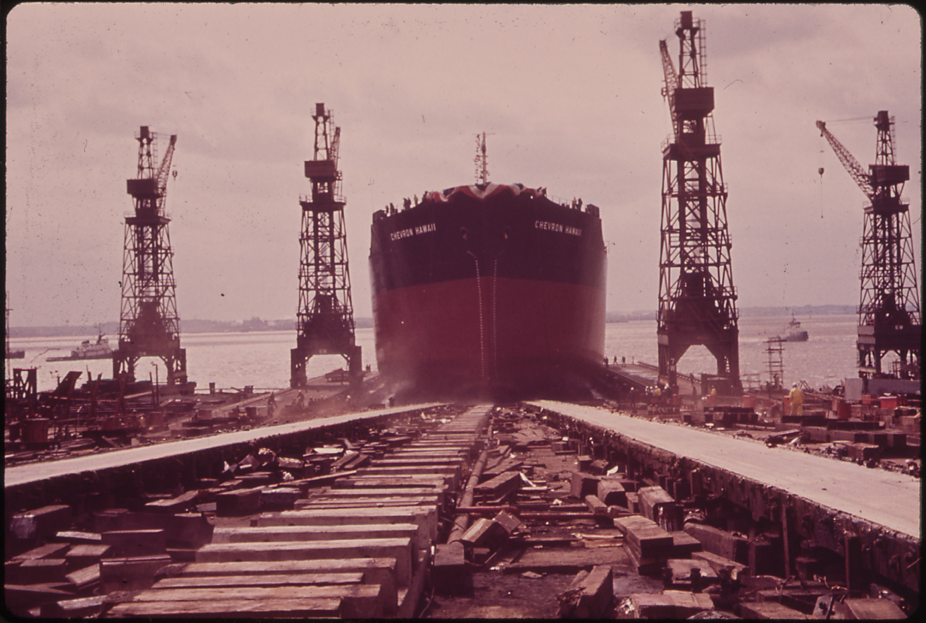 File:THE LAUNCHING OF THE NEW TANKER,