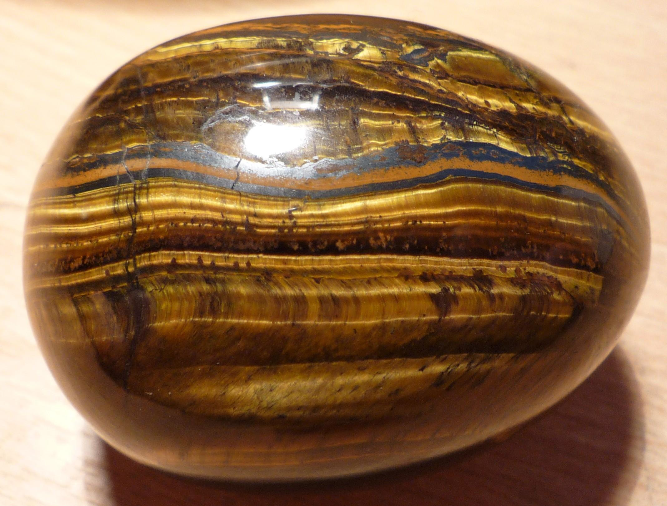 File Tigers Eye Egg Shape Jpg Wikimedia Commons